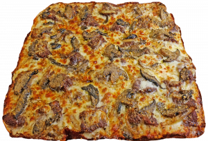 Full Three Cheese Steak Pizza