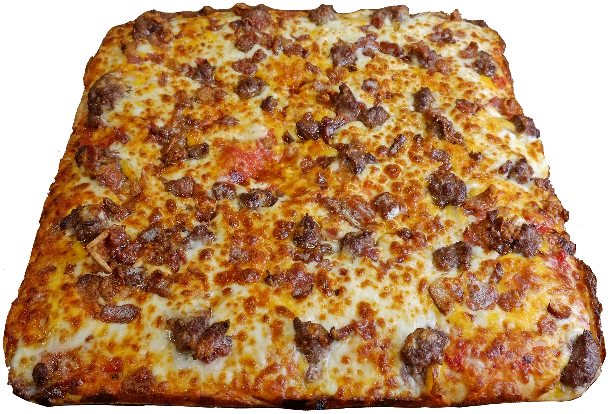 Full Bacon Cheeseburger Pizza