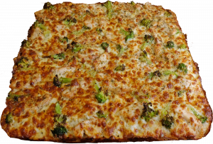 Full Broccoli Chicken Pizza