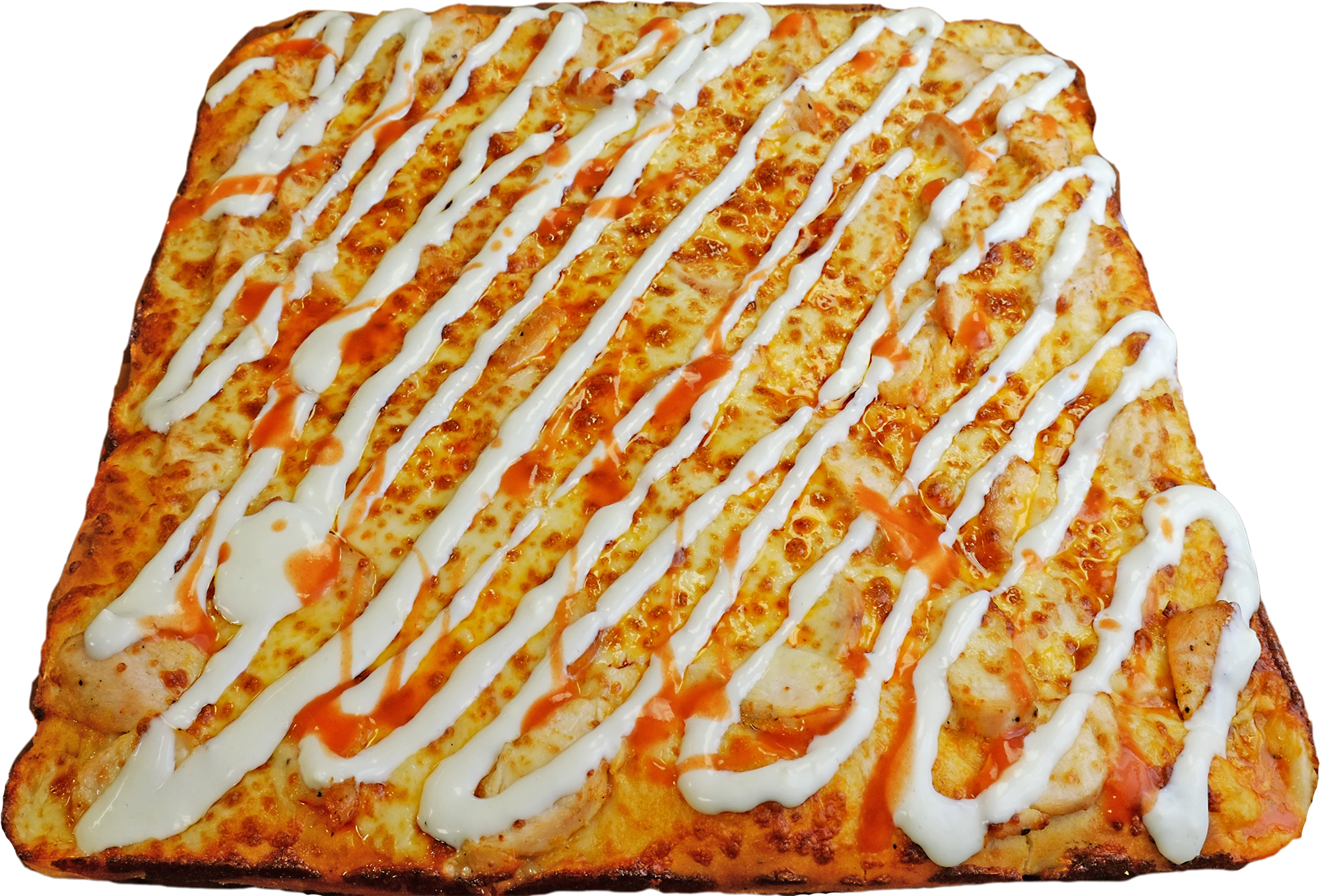 Full Buffalo Chicken Pizza
