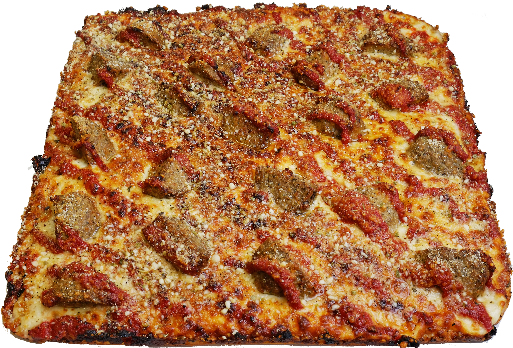Full Meatball Pizza