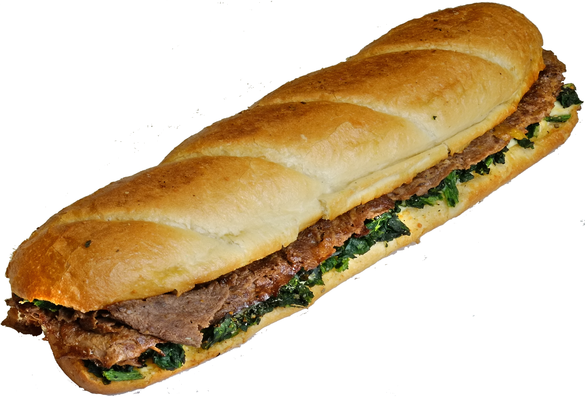 12 Inch Steak in the Grass Sub
