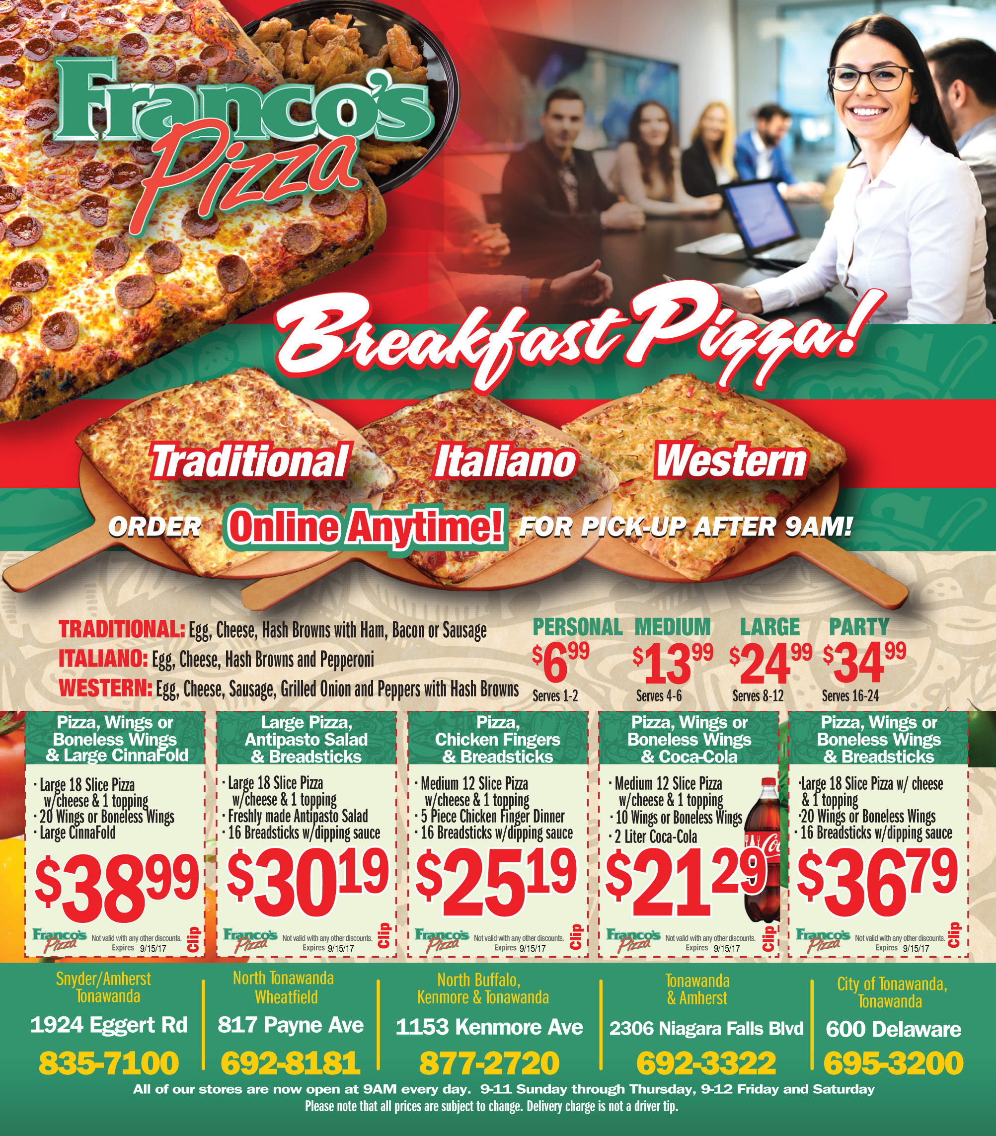 Pizza Online Order & Pizza Specials