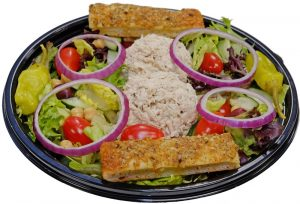 Tuna Salad with Breadsticks