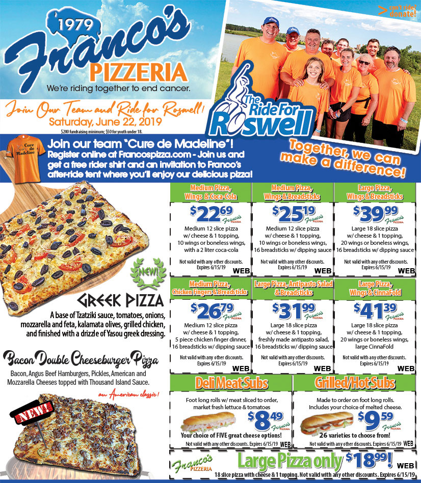 Party Pizza, Pizza Coupons and Pizza Promo Codes in Buffalo, NY